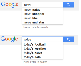today news google